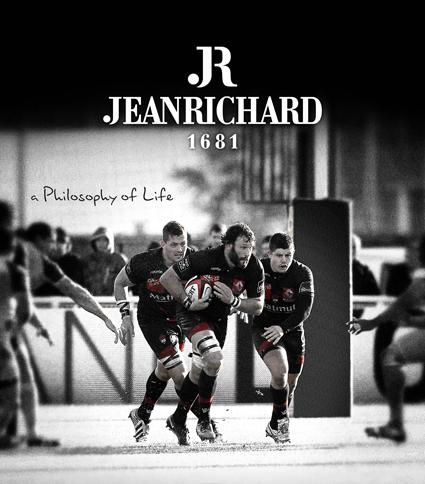 JEANRICHARD : a new partnership with the LOU Rugby club of Lyon