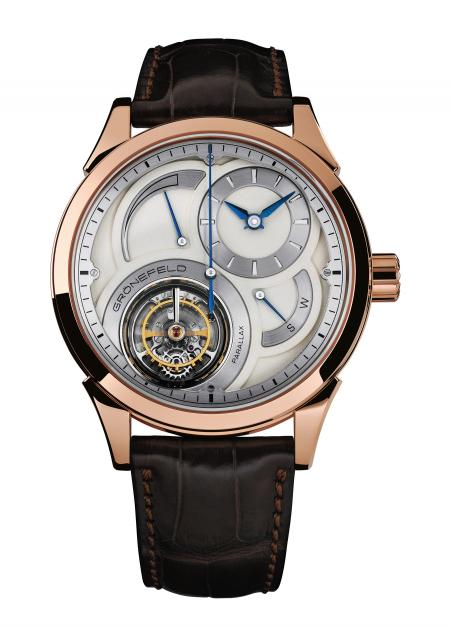 Tourbillon Watch Prize: Grönefeld, Parallax Tourbillon