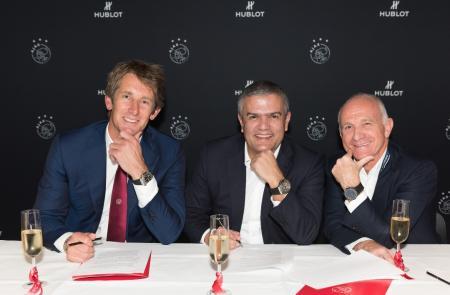 Hublot and Ajax extend their partnership