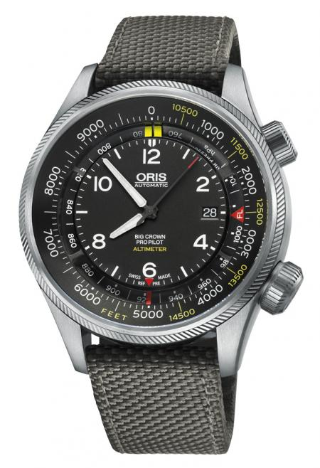 Salon Belles Montres 2014 - Oris - Big Crown Propilot Altimeter