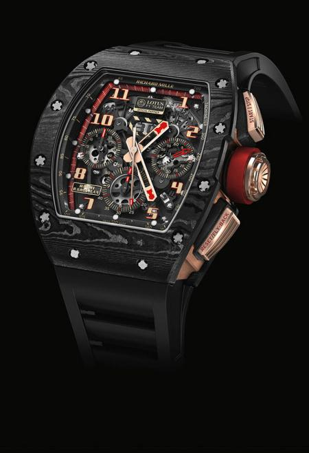 Salon Belles Montres 2014 - Richard Mille - RM 011 LOTUS F1 TEAM-ROMAIN GROSJEAN