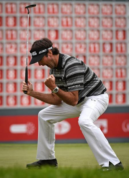 Bubba Watson wins in Shanghai ©GettyImages