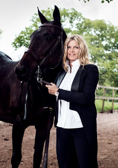 Clare Milford Haven Jaeger-LeCoultre Rendez-Vous Tourbillon @Astrid Munoz