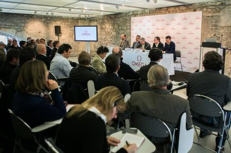 Press conference at Geneva's Cité du Temps on Tuesday