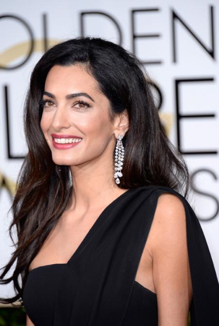 Amal Clooney - Harry Winston's jewellery