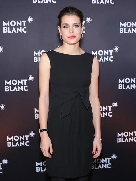 Charlotte Casiraghi, the new face of Montblanc