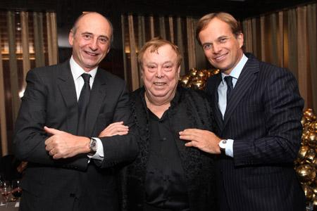 Philippe Pascal, gabriel tortella, Jean-Frederic dufour (From L to R).