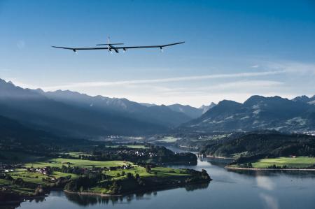 Solar Impulse project - Omega - First flight - 2010
