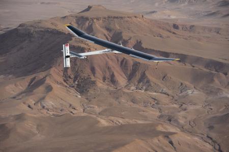 Solar Impulse project - Omega - Intercontinental flight - 2012