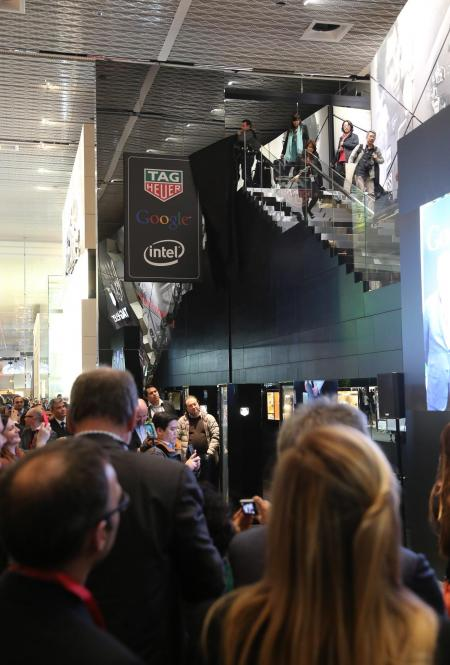 Baselworld 2015 : TAG Heuer, Google, and Intel Announce Swiss Smartwatch Collaboration
