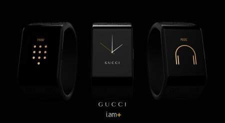 Gucci Timepieces - The smartband concept created with i.am+ - Baselworld 2015