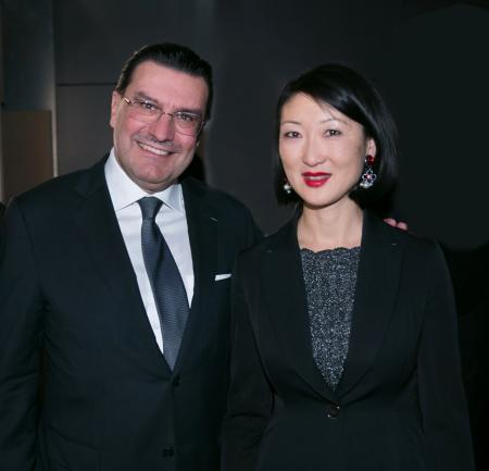 Juan Carlos Torres, CEO of Vacheron Constantin, and Fleur Pellerin, Minister of Culture and Communication