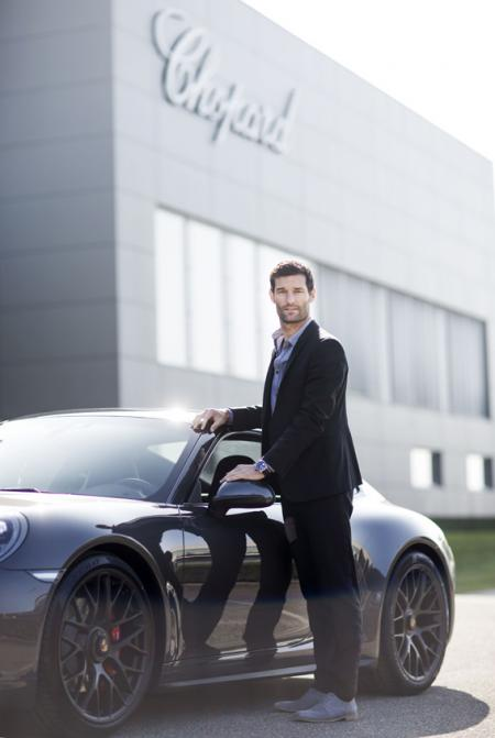 Mark Webber, Chopard's new ambassador