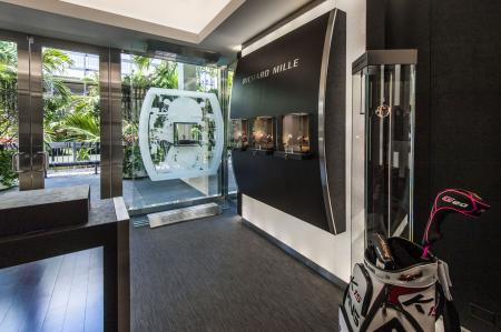 Richard Mille's third boutique in the United States, Florida's Bal Harbour Shops