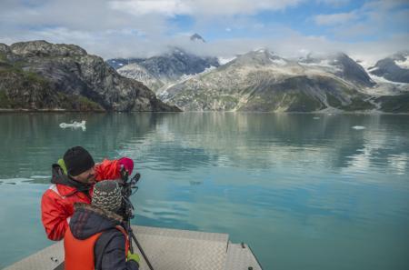 Making off video Glacier Bay National Park ©Mark Kelley