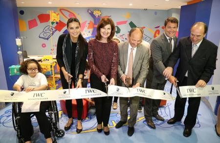 Inauguration at the hospital for children of Curitiba