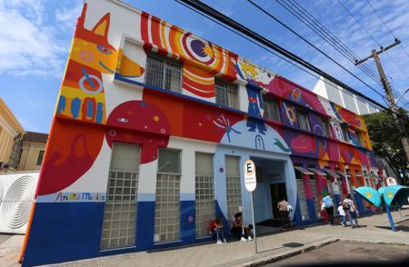 The hospital for children of Curitiba