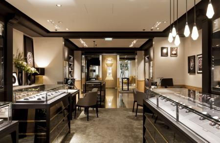 The 7 Paix, Piaget's worldwide Haute Joaillerie flagship store