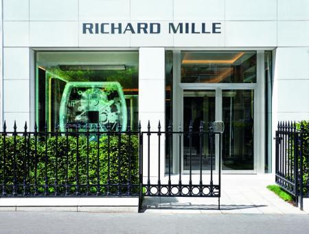 The new Richard Mille boutique on avenue Matignon - c Jerome Bryon