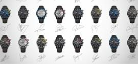 Watches created by the players of FC Barcelona