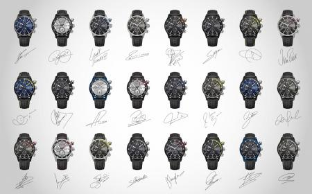 The 24 watches created by each of the players of the FC Barcelona
