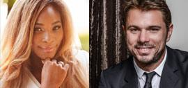 Serena Williams and Stan Wawrinka