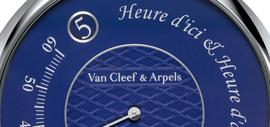 Pierre Arpels Heure d'ici & Heure d'ailleurs timepiece, specially created for Only Watch 2015