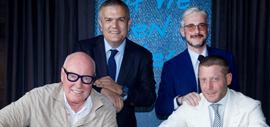 Ricardo Guadalupe, Jean-Claude Biver, Andrea Tessitore, Lapo Elkann