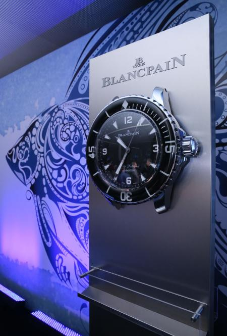 Blancpain at the World Ocean Summit 2015