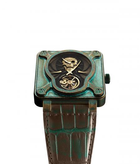 Bell & Ross BR 01 Skull Bronze Tourbillon for Only Watch