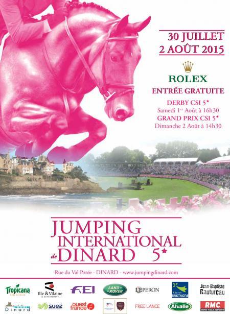 Rolex, new partner of the International Jumping of Dinard
