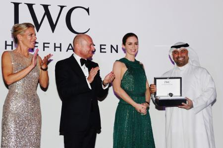 As an official partner, IWC already supports international film festivals, like in Dubai