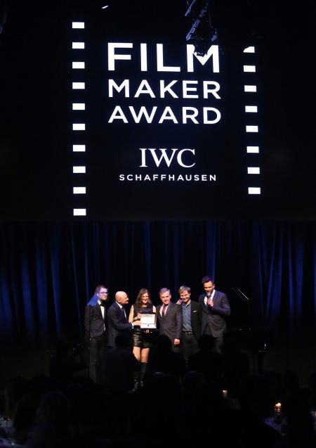 As an official partner, IWC already supports international film festivals, like in New York