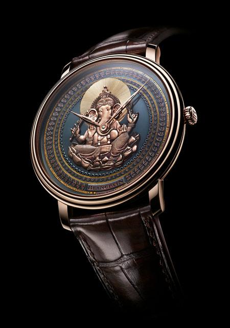 Artistic Crafts Watch Prize - Blancpain Villeret cadran Shakudō