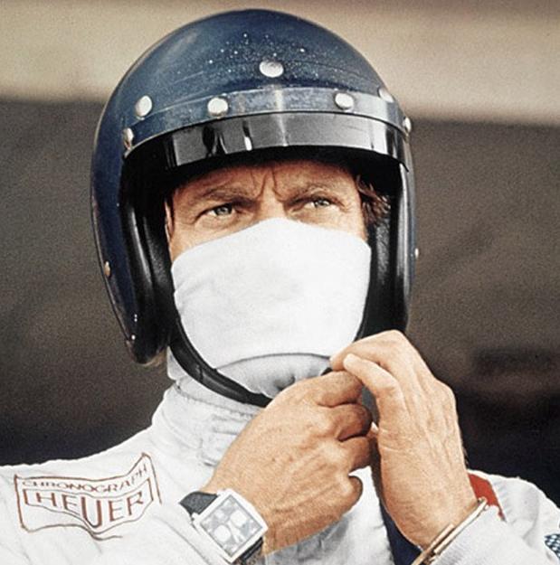 Steve McQueen and his Monaco - 1970