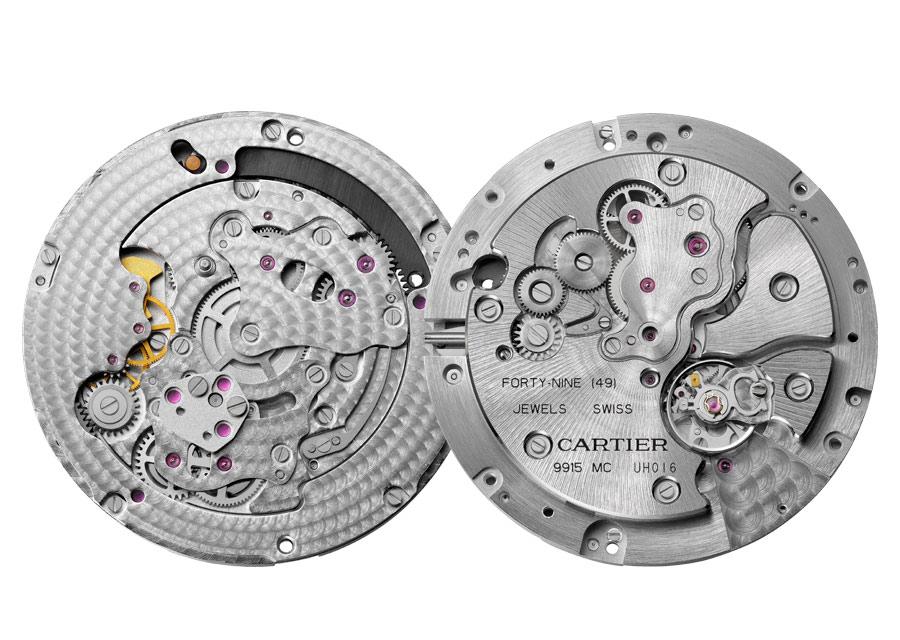 Rotonde de Cartier Panthères et Colibri - Cartier calibre 9915 MC