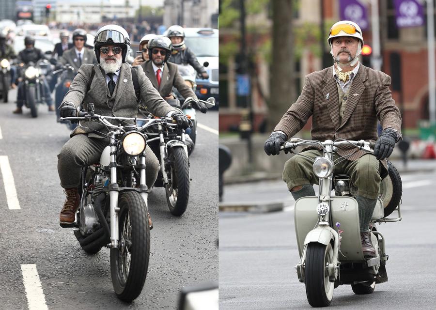 Distinguished Gentleman's Ride 2016 - London