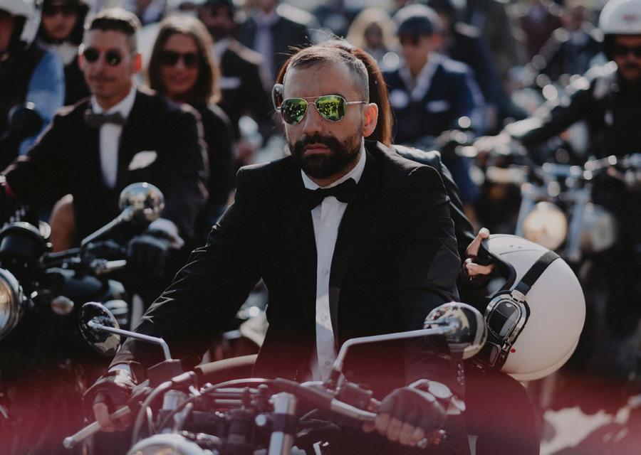 Distinguished Gentleman's Ride 2016 - Milan - credit Nicola Marchesi