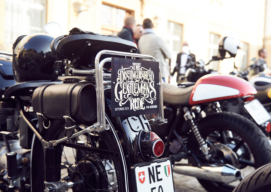 Distinguished Gentleman's Ride 2016 - Neuchâtel - credit Fabien Nissel