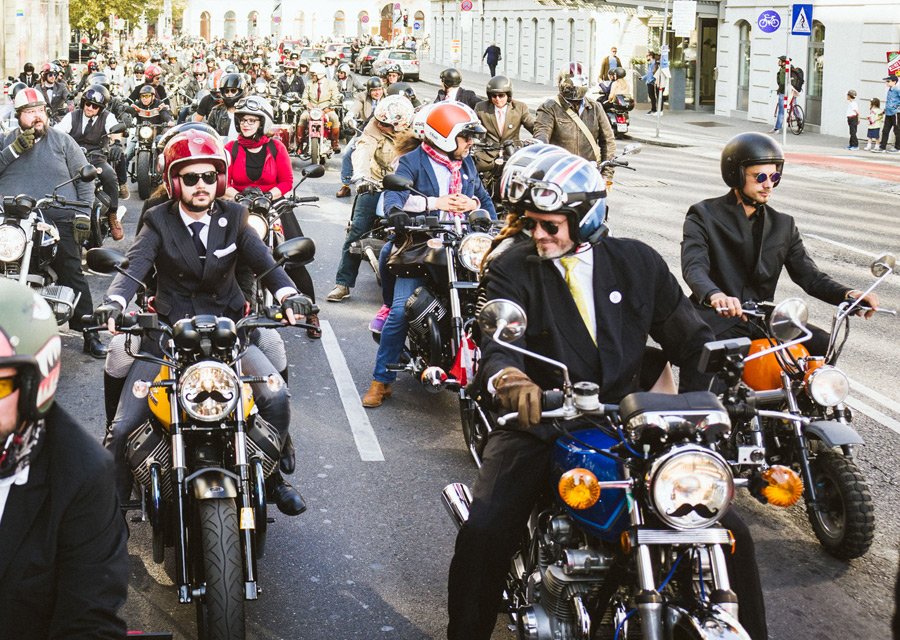 Distinguished Gentleman's Ride 2016 - Vienne - credit Georg Aufreiter