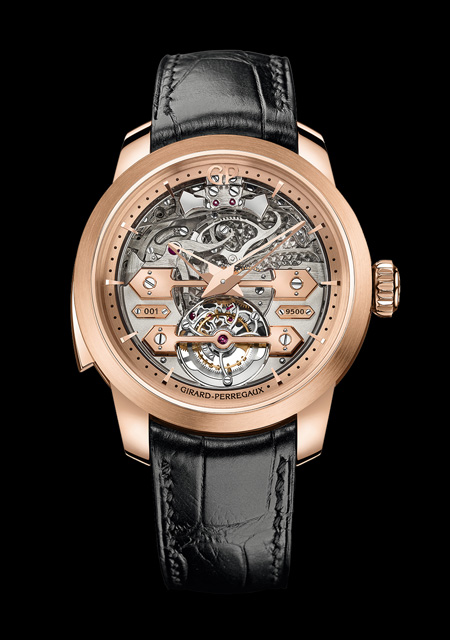 Striking Watch Prize - GP Minute Repeater Tourbillon with Gold Bridges