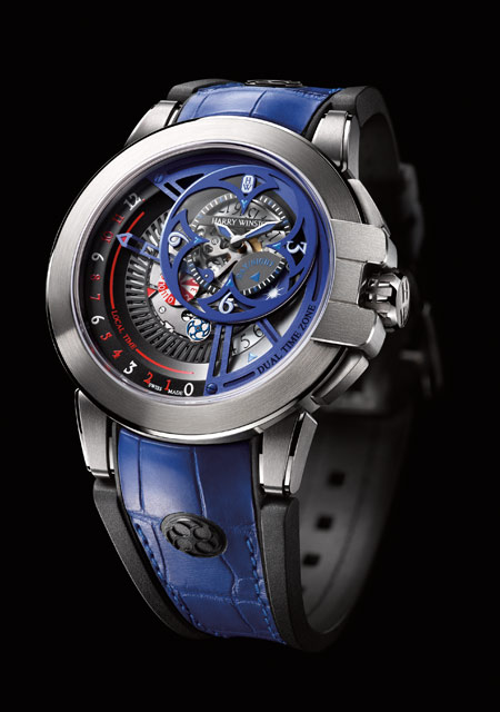 Harry Winston Ocean Dual Time Retrograde Only Watch
