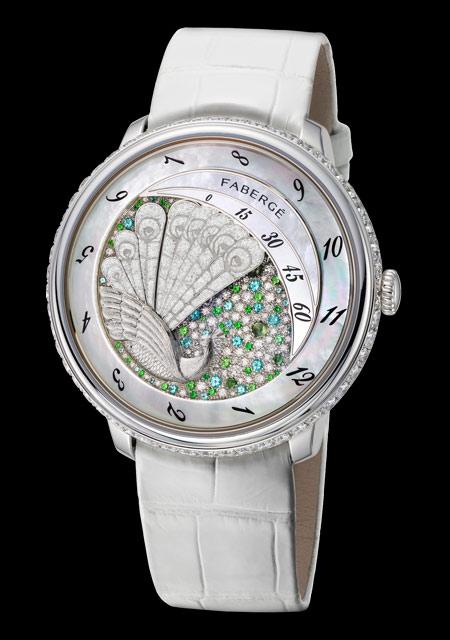 Ladies' High-Mech Watch Prize - Fabergé Lady Compliquée Peacock