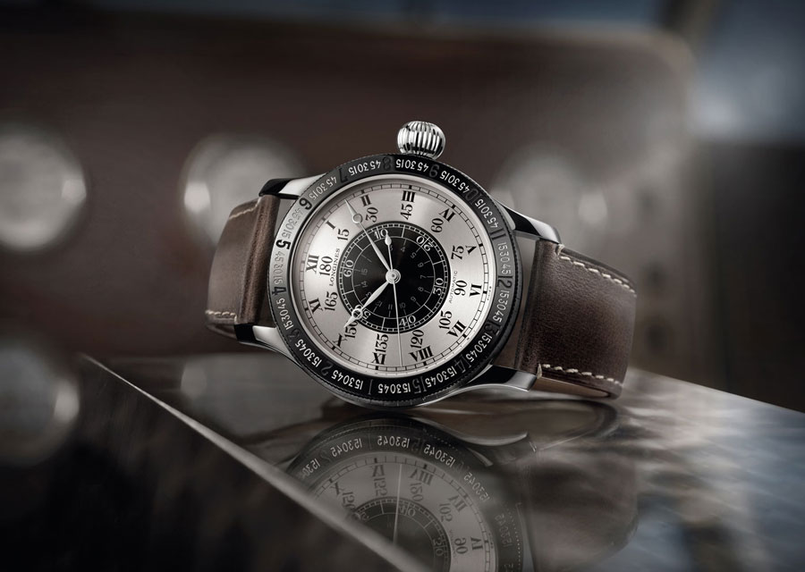 The reissue of Charles Lindbergh's watch