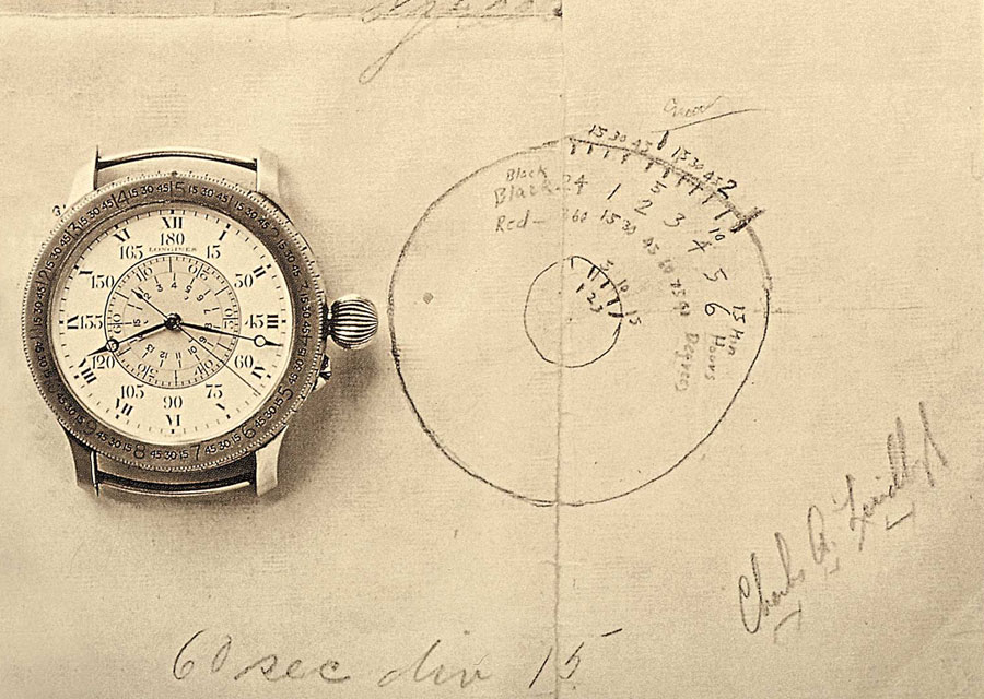 Conception of the Longines Hour Angle watch