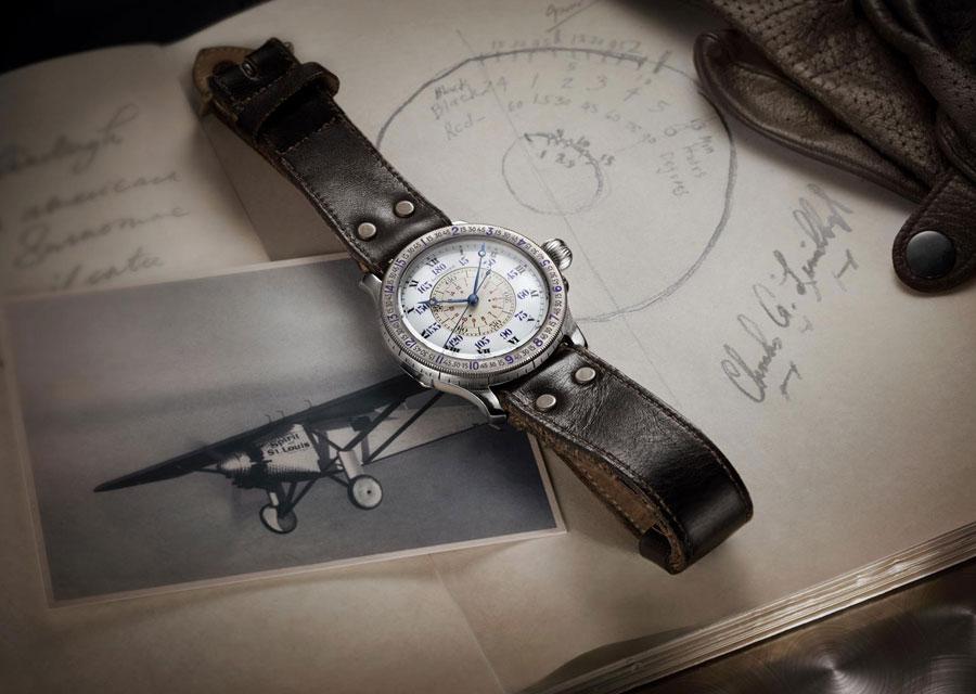 The original Longines Hour Angle watch of Charles Lindbergh