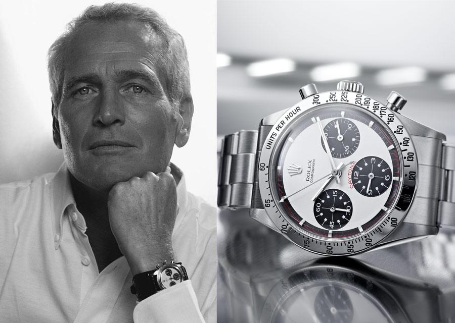 Paul Newman -1965 - Daytona cadran noir et blanc Paul Newman- ©Rolex/Jean-Daniel Meyer