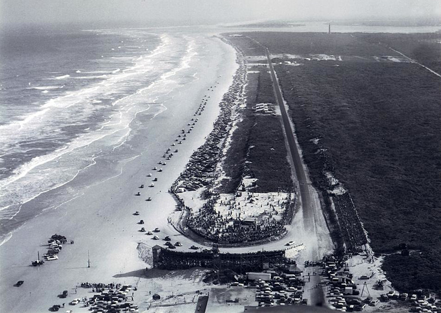 Daytona Beach - 1955 - ©ISC Archives/Getty Images