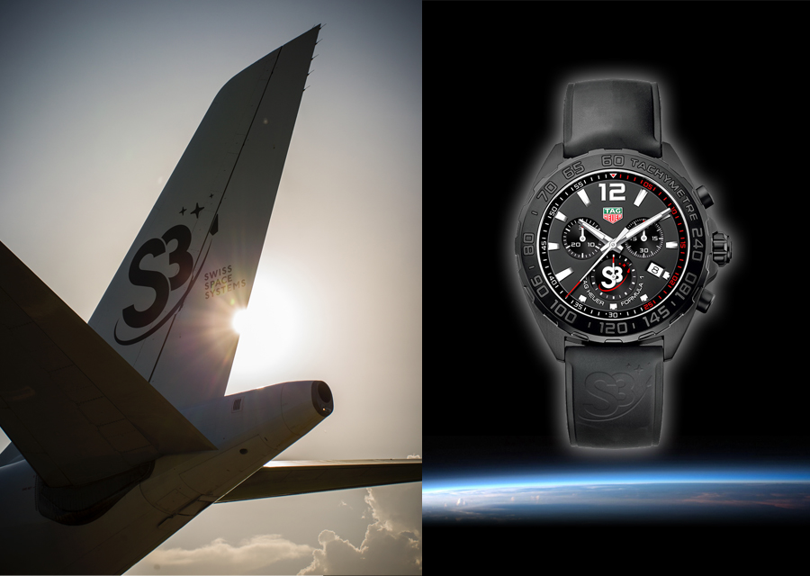 Tag Heuer and the S3 Swiss aerospace program