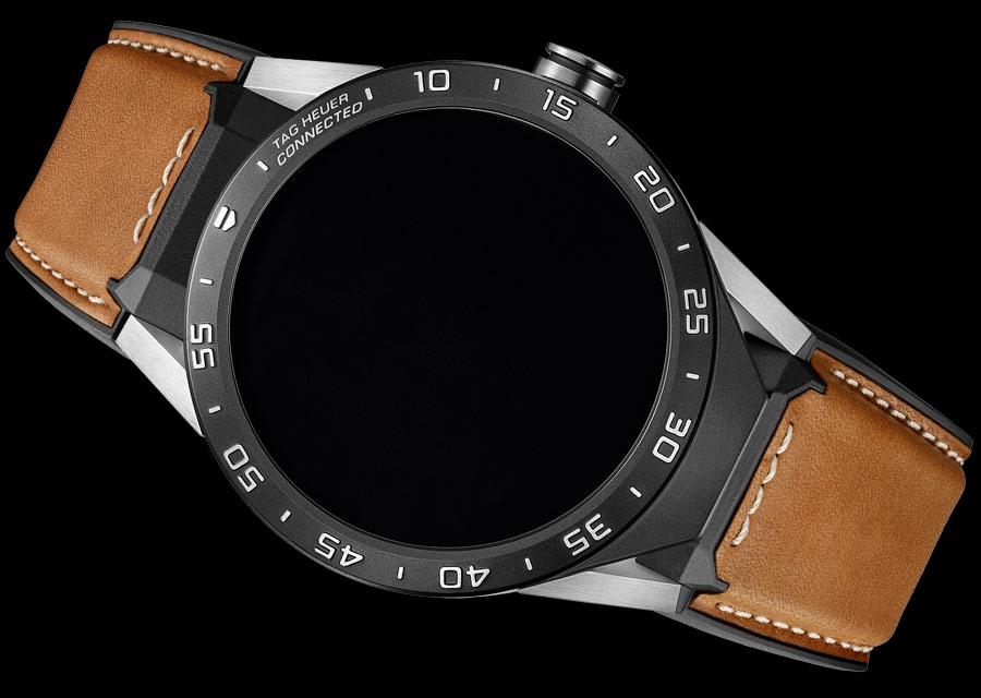 TAG Heuer Connected - Exclusive edition with leather strap